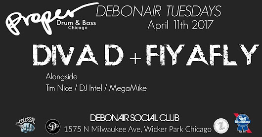 Tuesday we drum and bass!