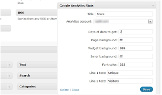 How to show Google Analytics statistics to the public