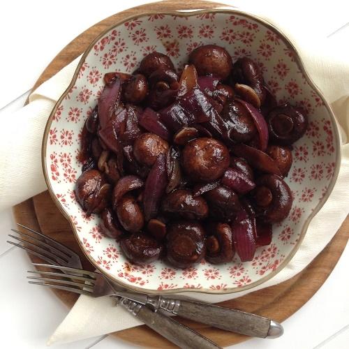 Balsamico-Champignons ~ Funghi all'aceto balsamico