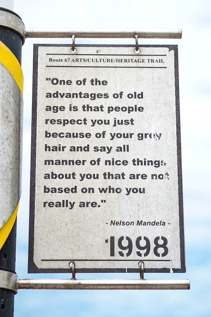 Nelson Mandela heritage trail, Port Elizabeth, South Africa