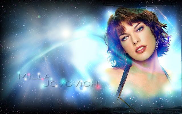 Milla Jovovich HD desktop wallpaper