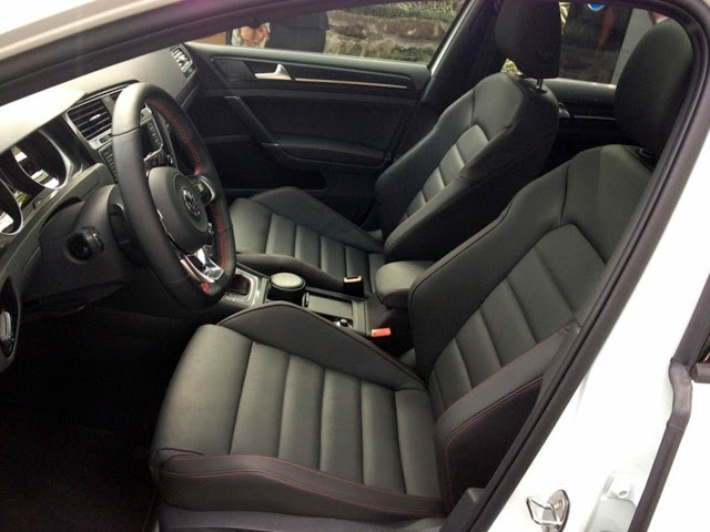 VW Golf GTI 2014 - interior