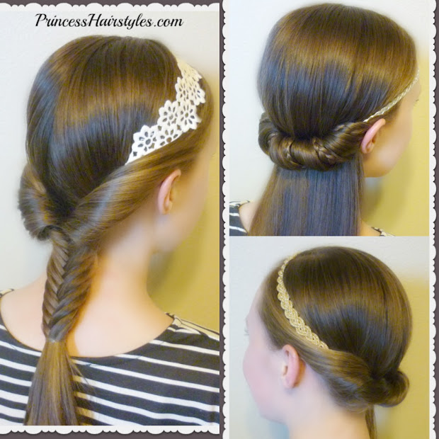 quick and easy princess hairstyles