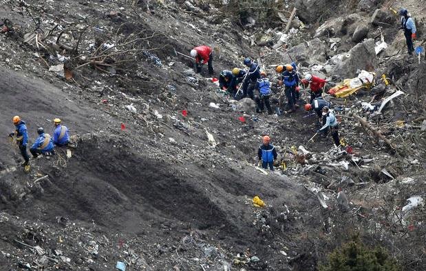 germanwings plane crash images