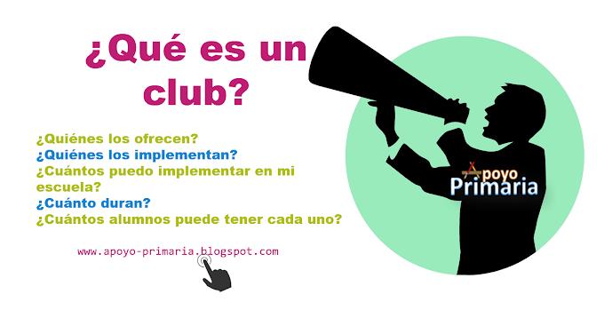 ¿Qué es un club (Propuesta Curricular)?