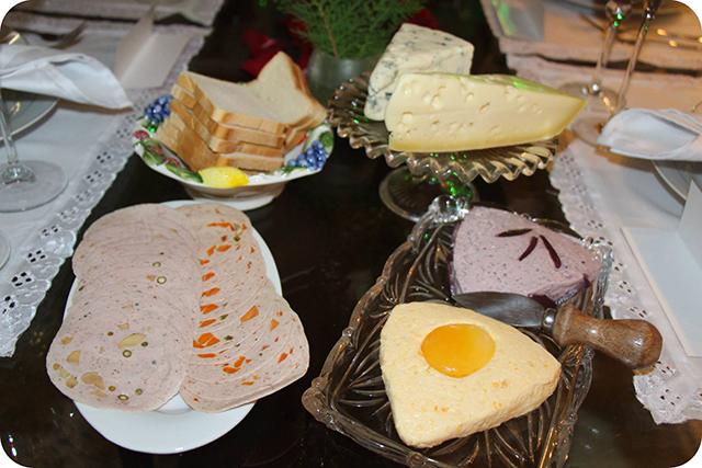 Frios e Patês : Decoração do Jantar Dia dos Namorados