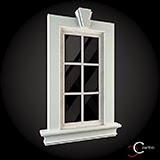 Ornamente ferestre pentru exterior, ancadramente ferestre win-002