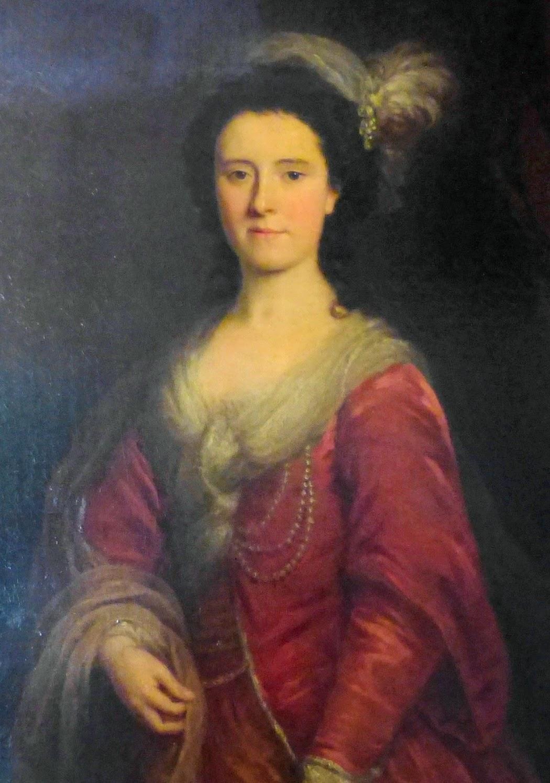 Probably Mrs John O'Neill - a painting at Stourhead