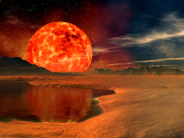 Sunrise, 7 billion years from now | Red Giant