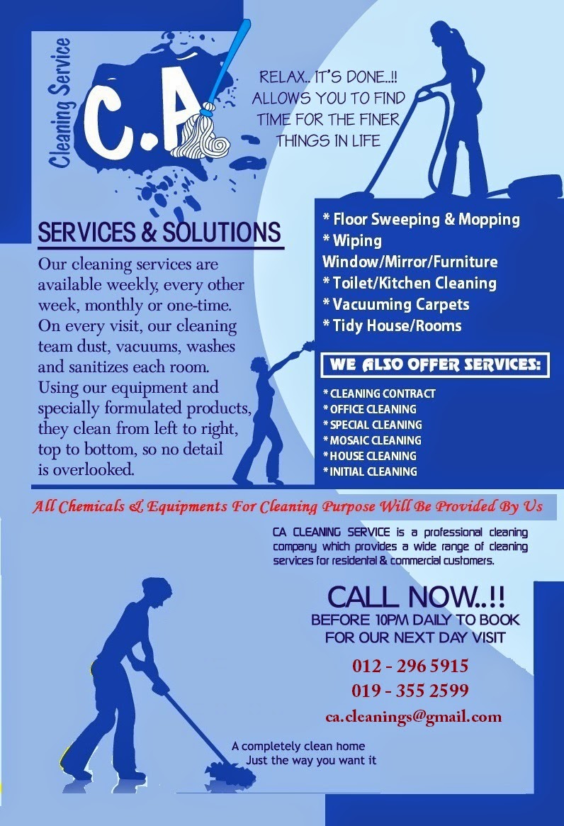 Ca Cleaning Services