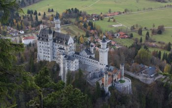 Wallpaper: Germany. Bavaria. Neuschwanstein Castle