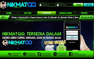 Nikmatqq.net Merupakan Agen Adu Q Dan Poker Online Terbaik Di Indonesia