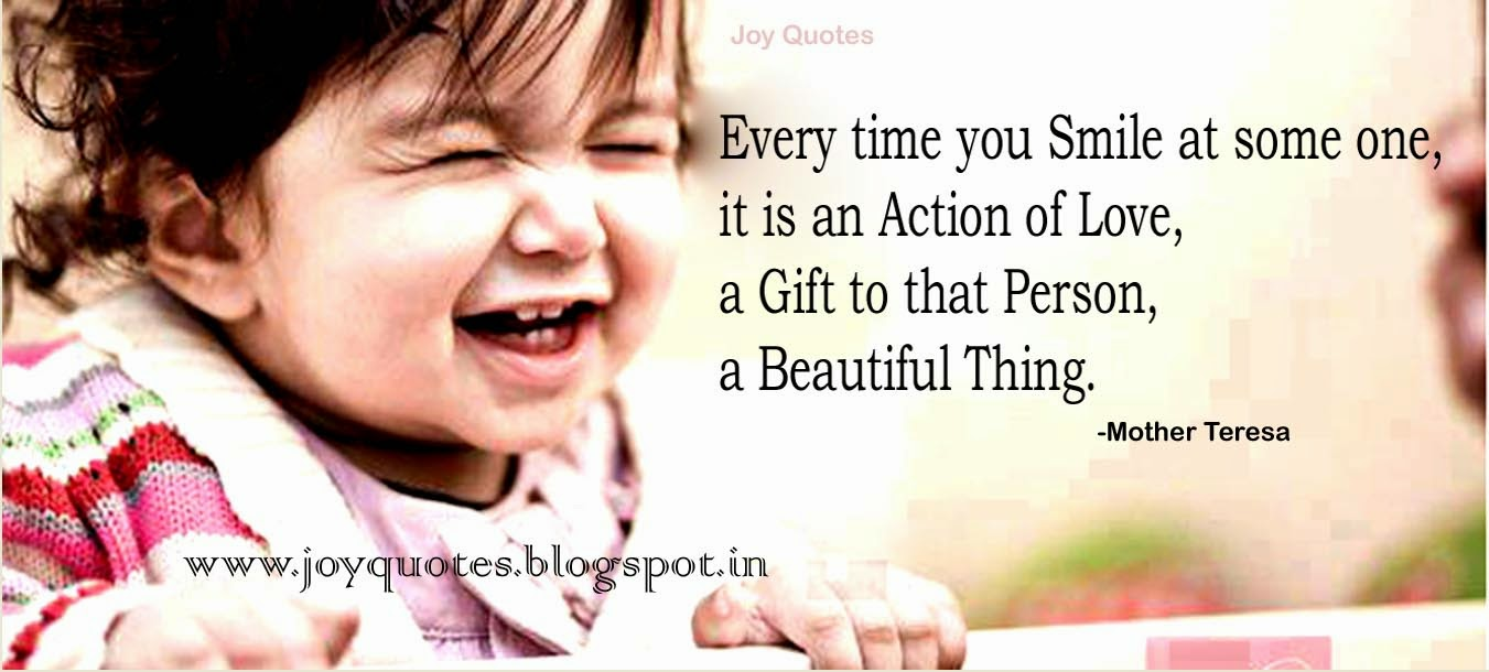 Mother Teresa Quotes About Smile Topsimages