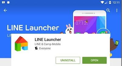 Aplikasi Line Wallpaper untuk Android dan iPhone