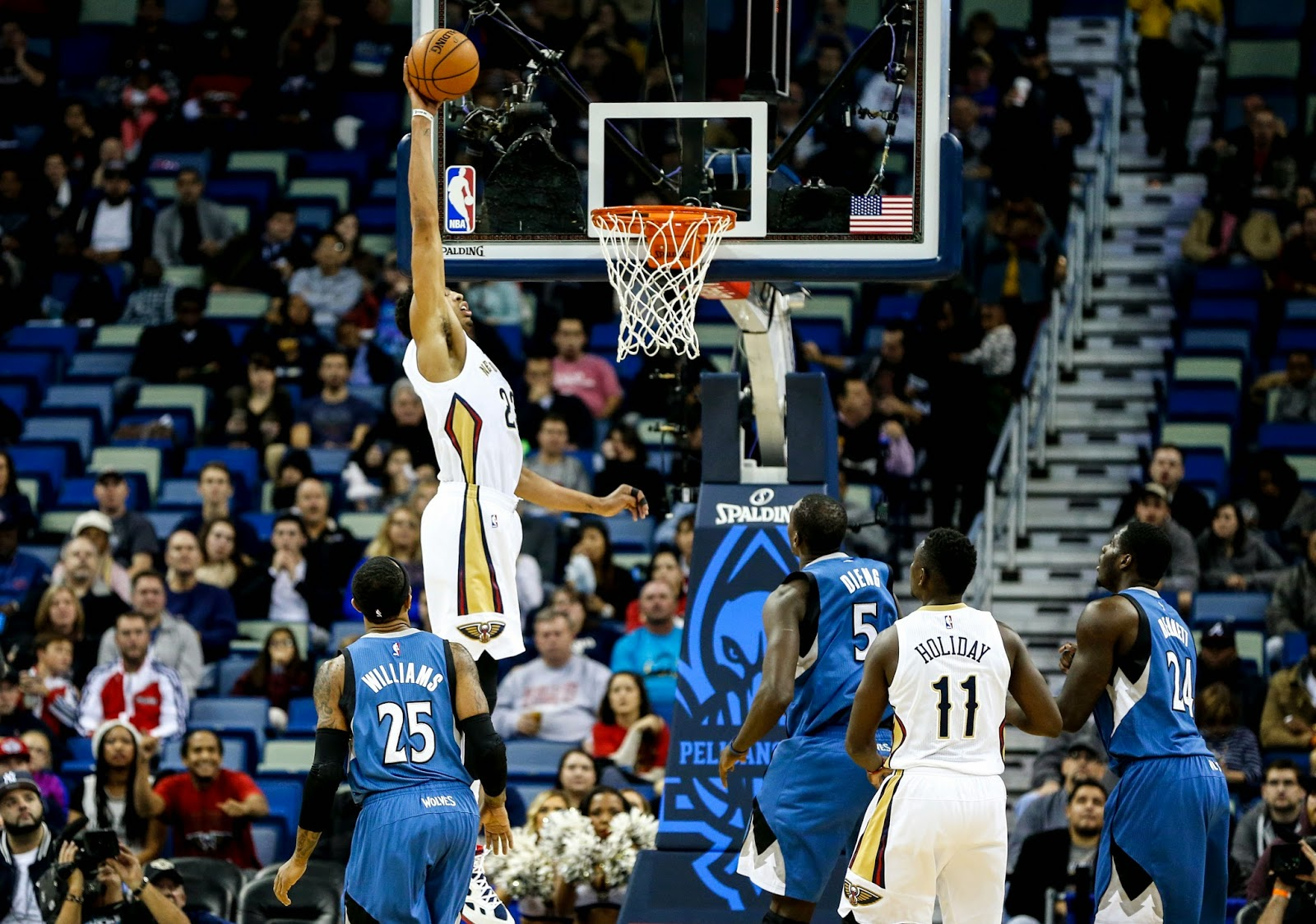 Anthony Davis Dunk Gif Steve Kerr s nightmare