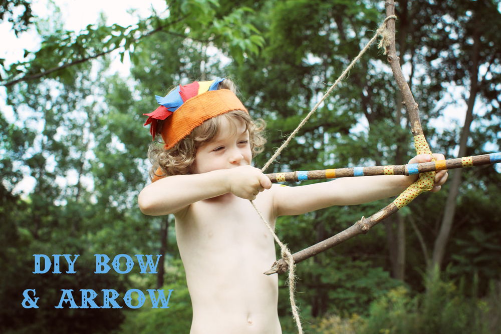 Diy Little Boys Bow And Arrow Craft O Maniac