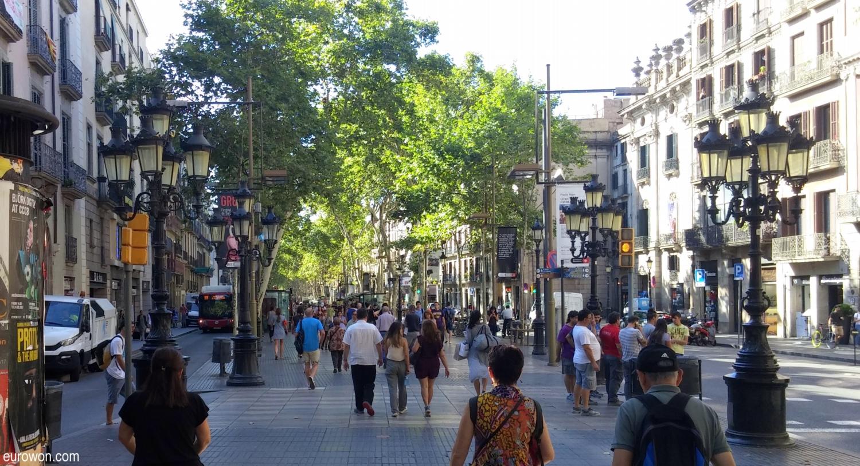 Unas pocas horas en Barcelona [Eurowon]