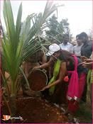 Manchu Lakshmi Participated HarithaHaram-thumbnail-6