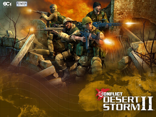 Conflict Desert Storm 2 PC Game Download