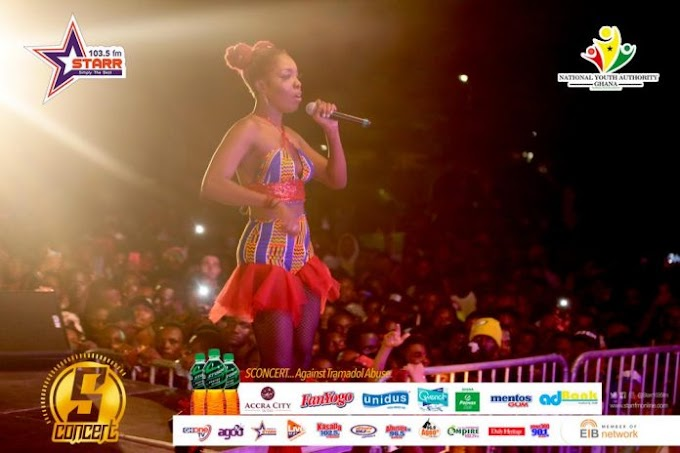 Photos: Kofi Kinaata, Stonebwoy, others Thrill Thousands At #SConcert2018