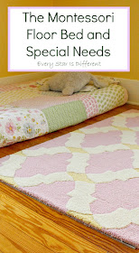 The Montessori Floor Bed and Special Needs
