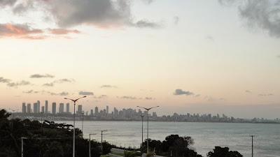 Vista da cidade de João Pessoa, história da cidade onde o sol nasce primeiro