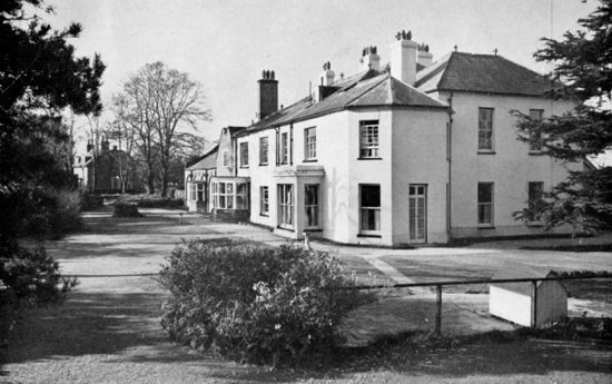 Postcard, Hawkshead House 1920s - Image from B. Horrocks