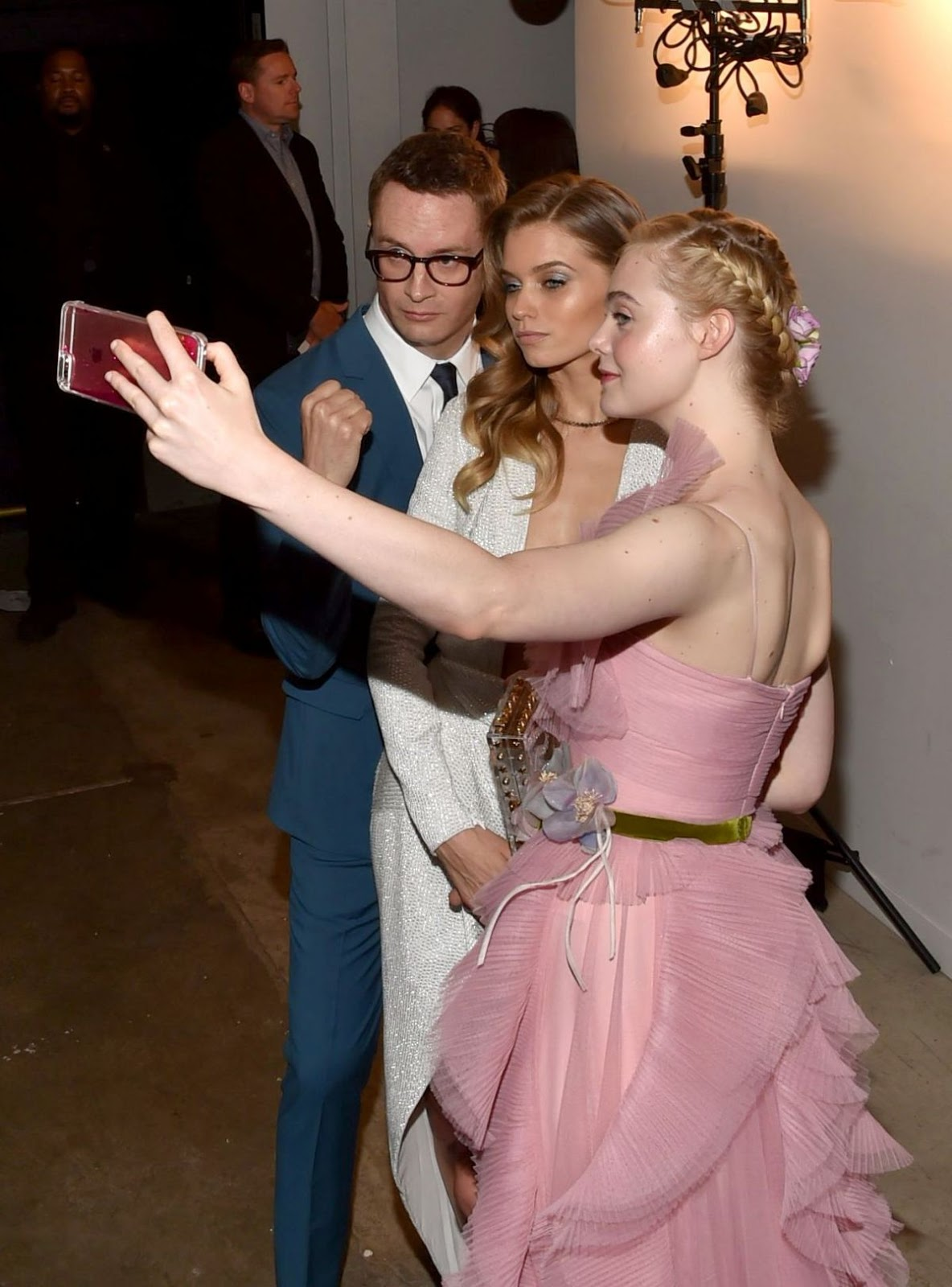Elle Fanning At The Neon Demon Premiere In New York