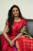 Manasa in Pink Salwar At Fashion Designer Son of Ladies Tailor Press Meet Pics ~  Exclusive 32.JPG