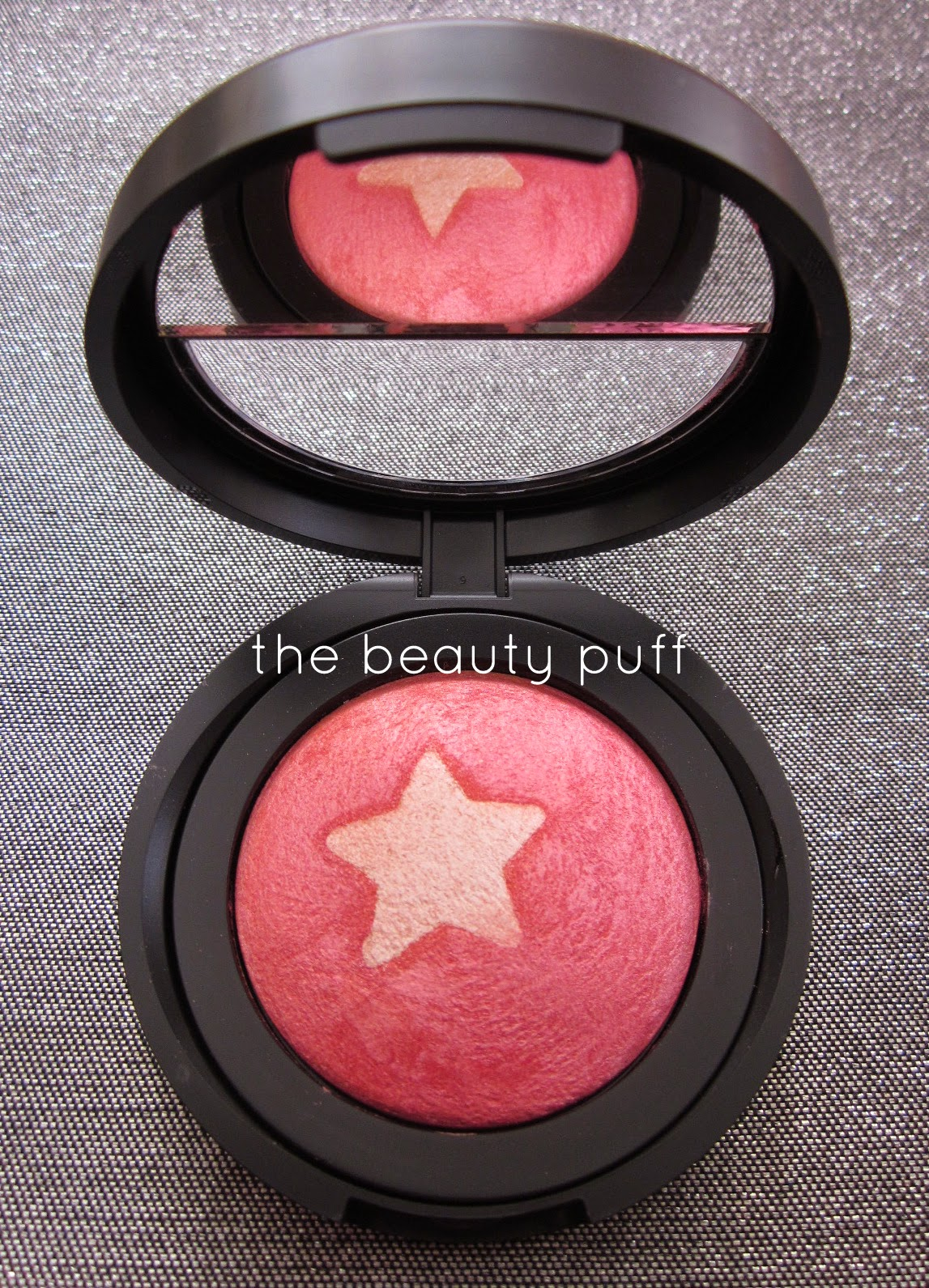 laura geller blush n highlight rose starlight - the beauty puff