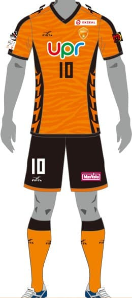 レノファ山口FC 2018 ユニフォーム-FP-1st