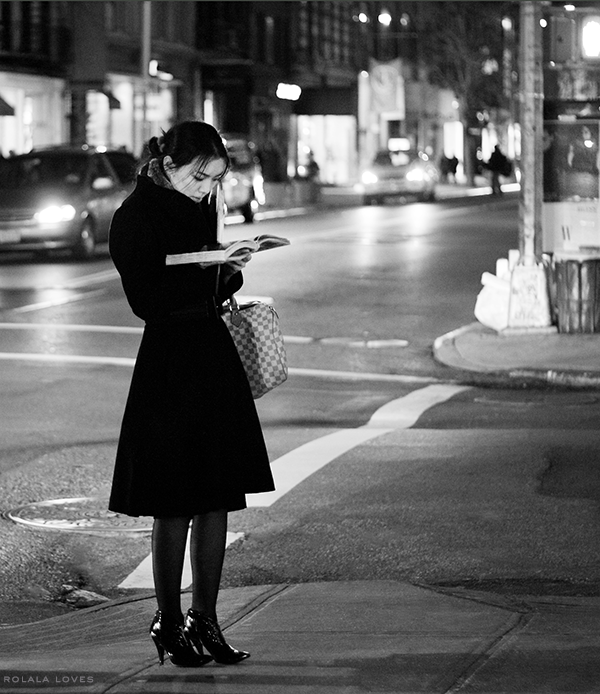 Girl on a Corner, Woman on Street, Street Photography, How To Take Better Photos, How to take a Photowalk, NYC Photography, Olympus Takes You There, Olympus OM-D E-M5 Mark II, Olympus Camera