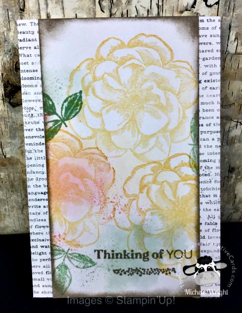 Paper Pumpkin Alternatives, Sentimental Rose, Distinktive Stamp, Stampin Up
