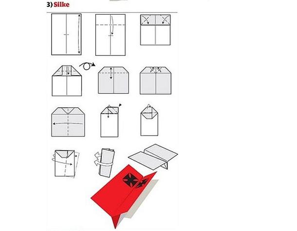 Extremamente Como fazer avião de papel incrível para humilhar seus amigos [12  OH39