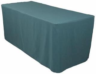 ผ้าคลุมโต๊ะจัดเลี้ยง ผ้าคลุมโต๊ะสัมมนา ผ้าคลุมโต๊ะประชุม ( คลุมโต๊ะโดยการสวม )