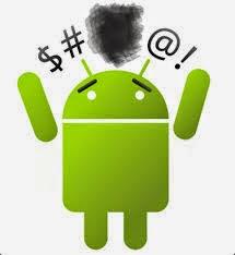 layar android bermasalah
