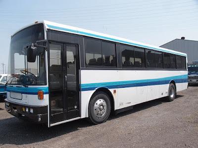 19632A4N7 1996 Nissan Diesel Bus