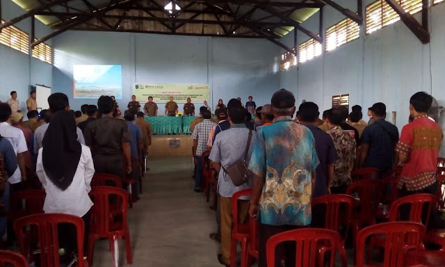 Kejari OKI Sosialisasi TP4D Ke Seluruh Kades di Kecamatan SP Padang