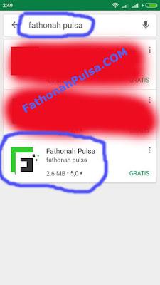 Download aplikasi fathonah pulsa