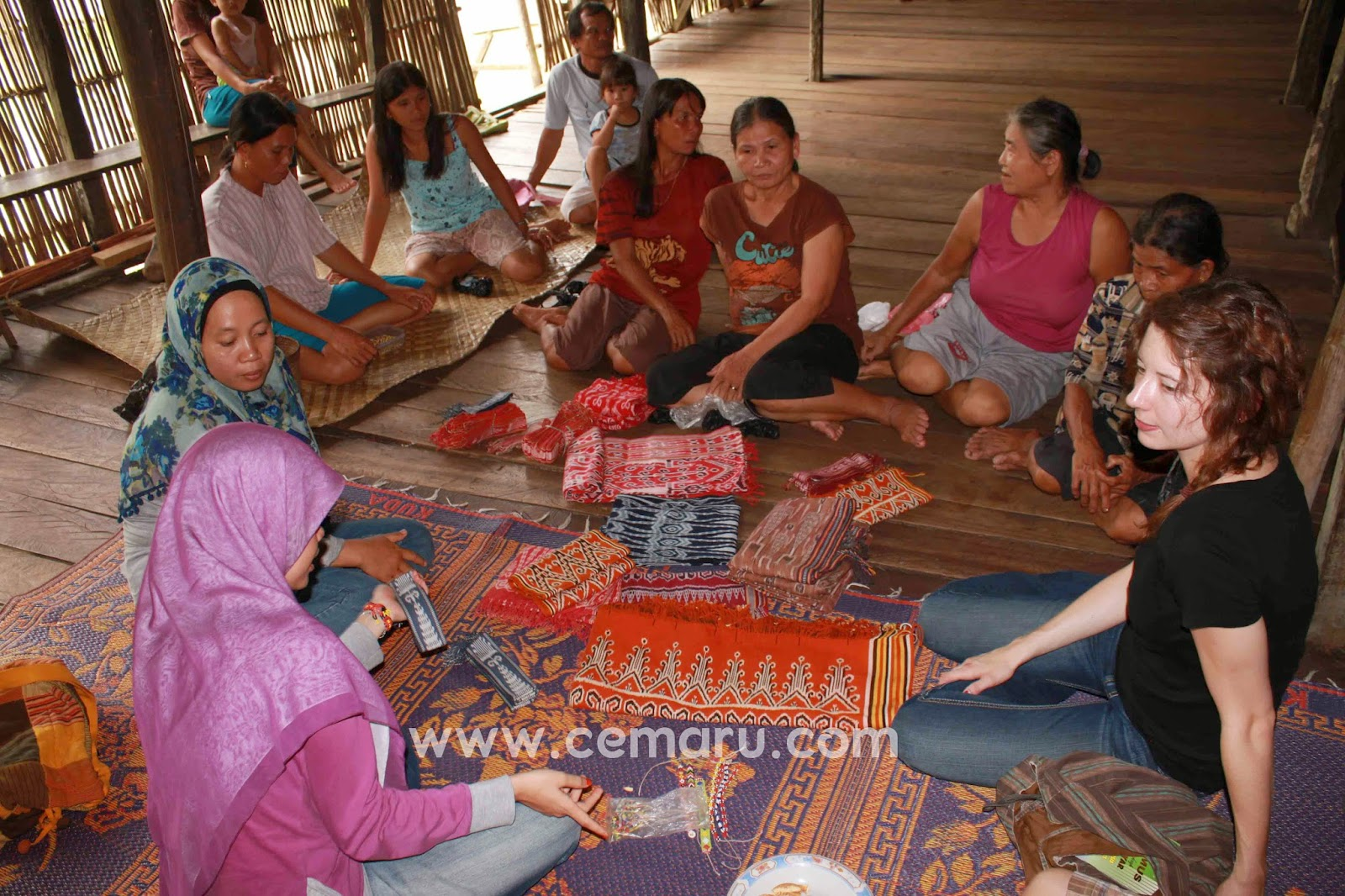 Generous people of Kalimantan