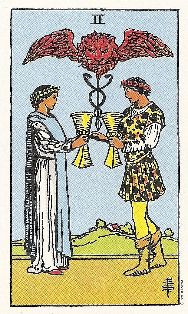 Tarot And More: 4) Tarot Symbolism: The Caduceus: