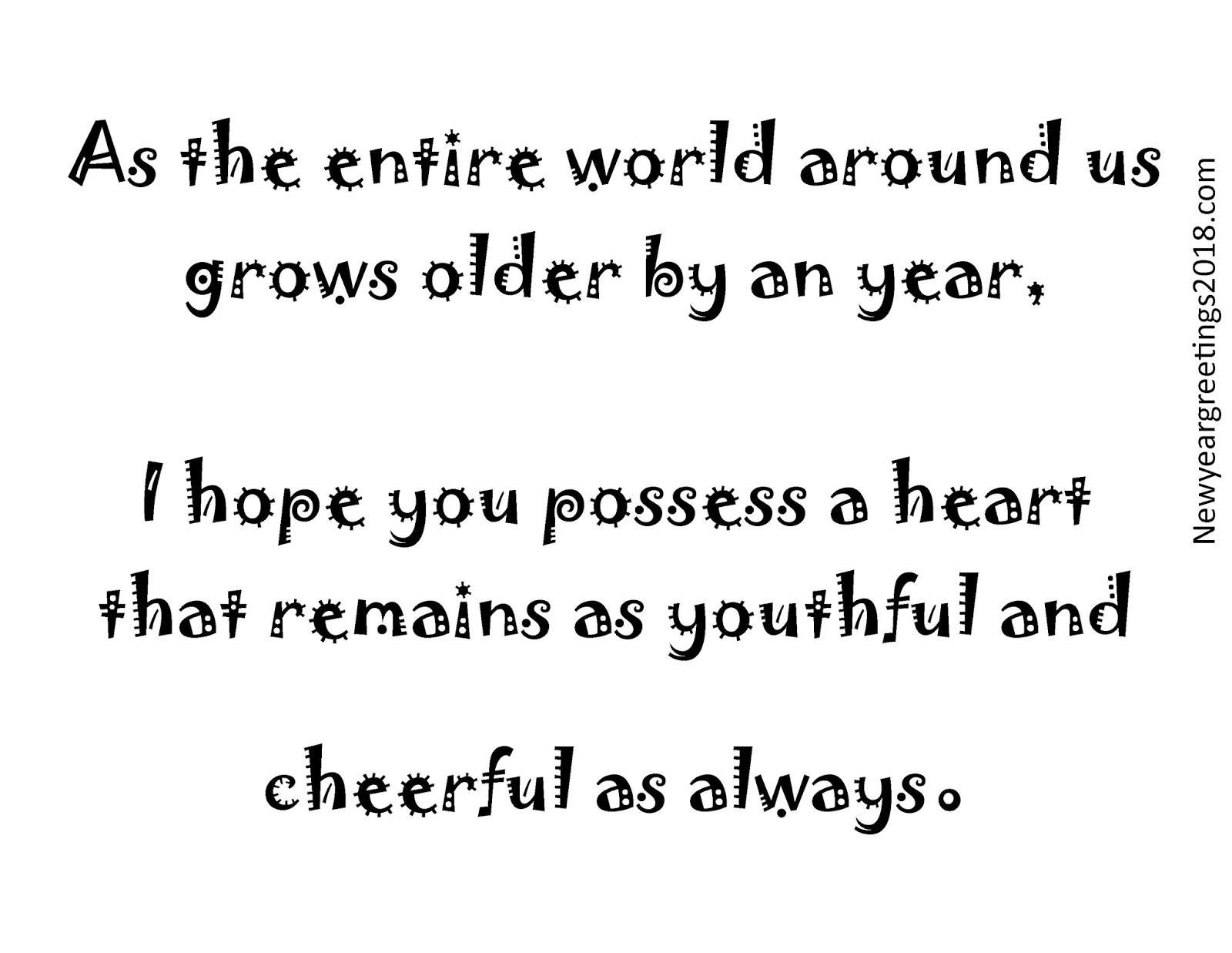 Year 2018 Wishing QUotes