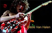 Eddie Van Halen Creador de la Guitarra Eléctrica Superstrat
