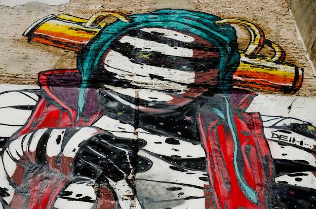 New Street Art Mural By Deih For Incubarte Urban Art Festival In Valencia, Spain. 3