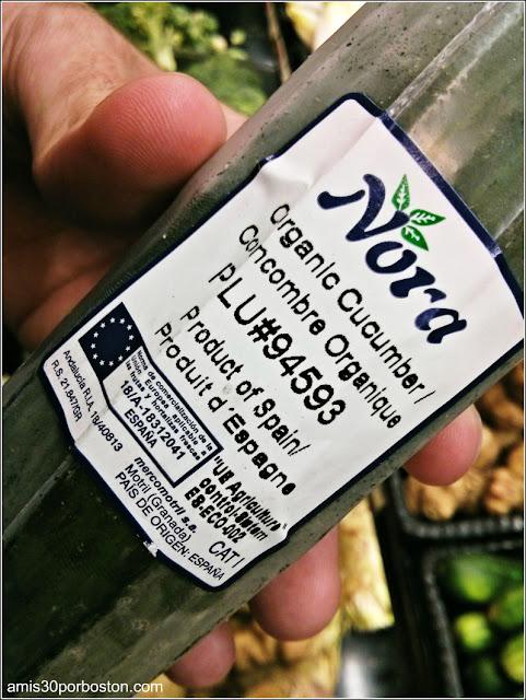 Verduras Españolas en los Comercios de Massachusetts