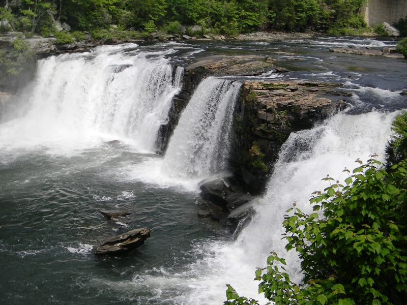 SWAC Girl: Northeast Alabama: Little River Falls at Lookout