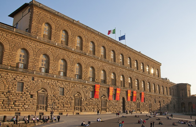 Galeria Palatino no Palácio Pitti