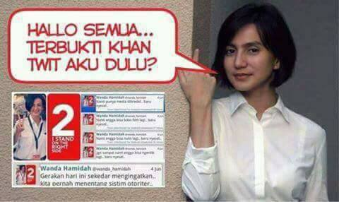 Twit Lama Wanda Hamidah Ini Terbukti Nyata Lalu Jadi Bahan Sindiran Netizen
