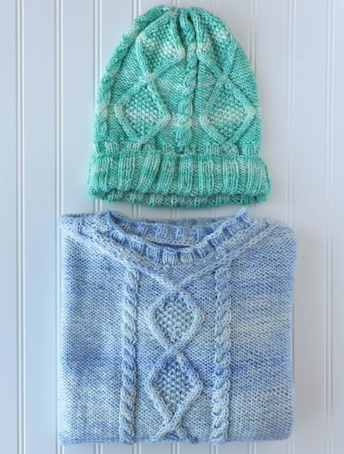 Hazy Hat & Sweater - Free Pattern
