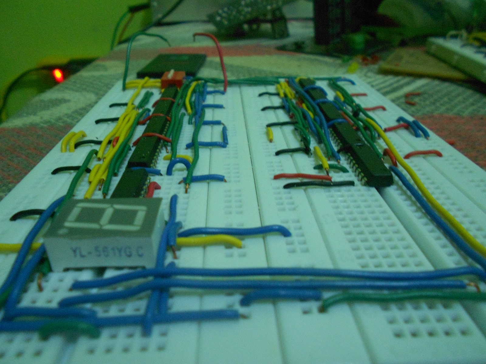 Ece Logic Circuit The Seven Segment Display